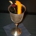 Der Prince of Wales Cocktail  - standesgemäß im Silberpokal