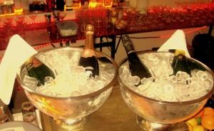 Gut gekühlter Champagner