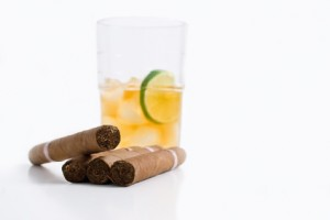 All the C's  - Cuban Cigars and Drink