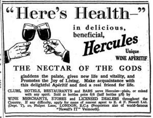 Hercules - A Wine Aperitif
