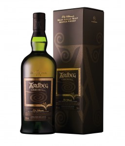 Ardbeg Corryvreckan with box on white logo