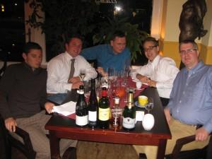Trinklaune im Restaurant E.T.A.. Hoffmann / Berlin