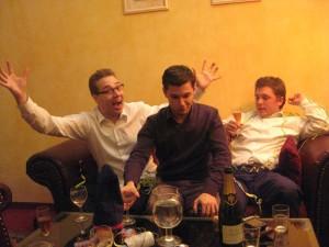 Trinklaune in der Partysuite
