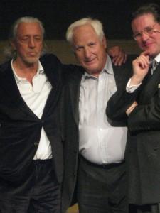 Award fürs Lebenswerk - Charles Schumann (links), hier mit Franz Brandl und Gregor Scholl