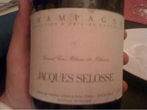 Jacques Selosse - Grand Cru Blanc de Blancs