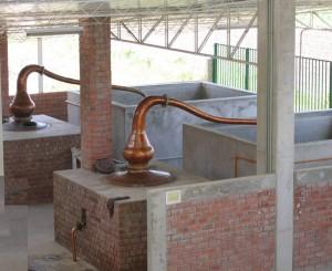 Destillierkolben