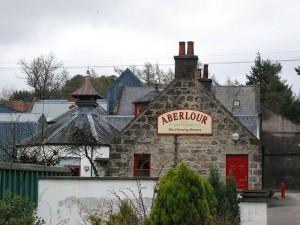 Die Aberlour Destillerie, fotografiert 2005 von Y. Kohno