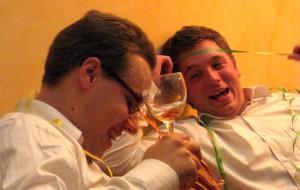 Trinklaune Prost Neujahr