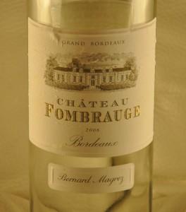 Château Fombrauge – Fombrauge Blanc 2005