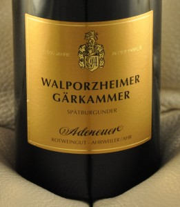 Weingut Adeneuer - Walporzheimer Gärkammer GG