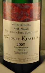 August Kesseler - Rüdesheimer Berg Schlossberg 2005