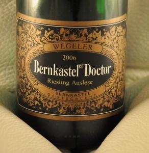 Weingüter Wegeler – Bernkasteler Doctor Riesling Auslese 2006