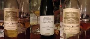 Beerenauslese, Eiswein, Trockenbeerenauslese