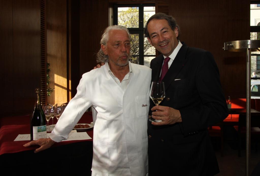 Charles Schumann und Bruno Paillard
