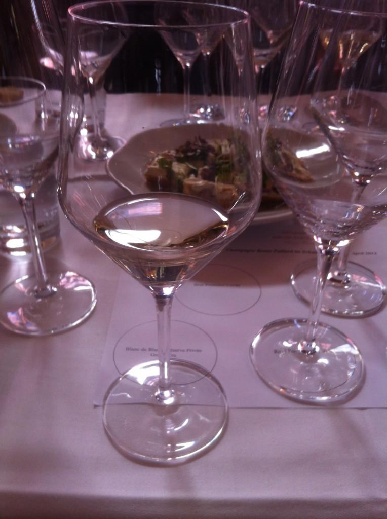Rosé Première Cuvée im Glas