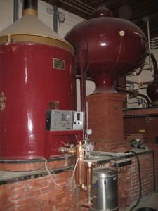 Charentaiser Brennblase