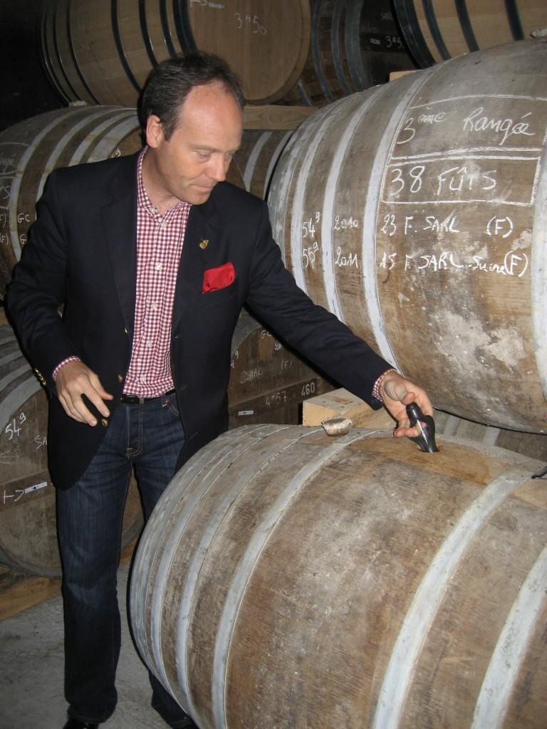 2010er Fassprobe bei Cognac Ferrand