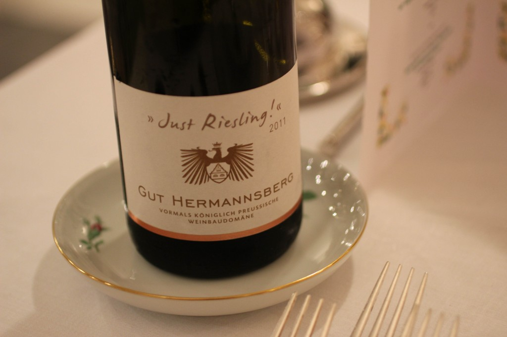 """Gut Hermannsberg - """"Just Riesling!"""" 2011"""