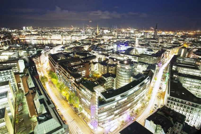 Emporio bei Nacht (Foto: Marcus Koppen, © Nord Event GmbH)