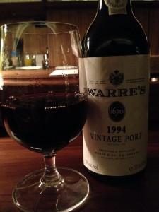 Warre's Vintage Port 1994