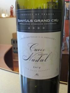 Cuvée Joseph Nadal Banyuls Grand Cru