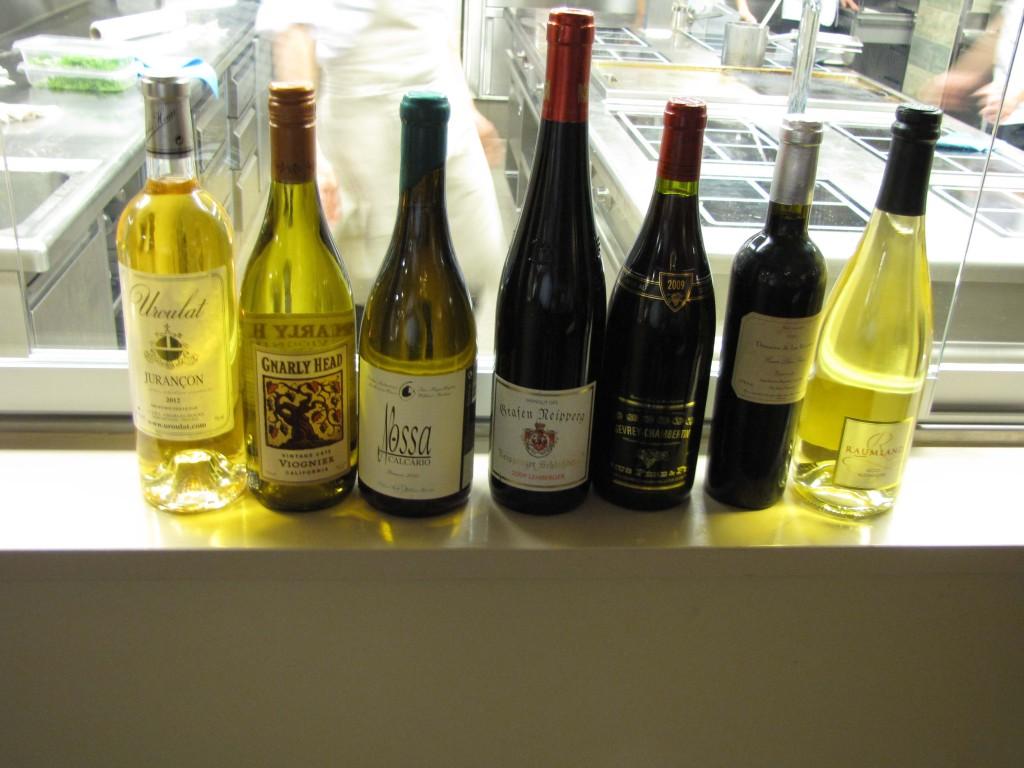 Die Weinauswahl