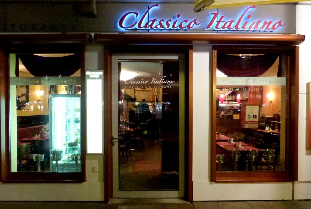 Ristorante Classico Italiano, An der Frauenkirche 20