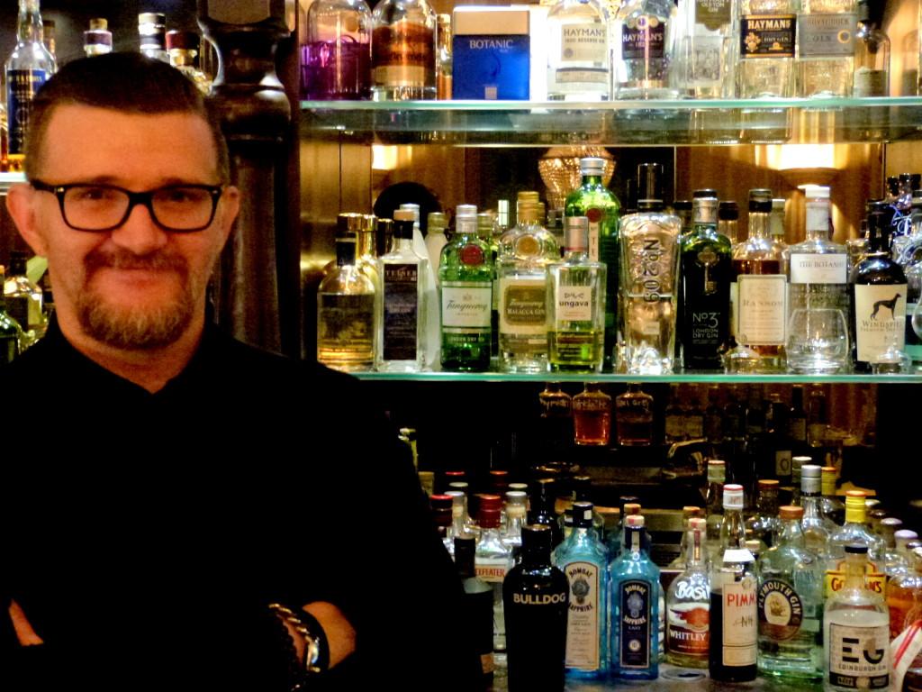 Waldemar Bornemann im Dresden Gin House