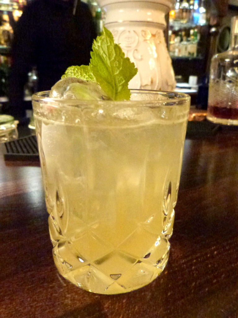 London Leaves - Eine alkoholische Limonade