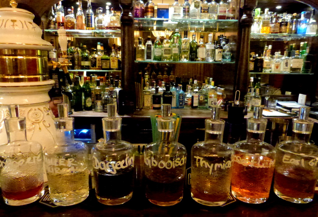 Gin Infusionen im Gin House