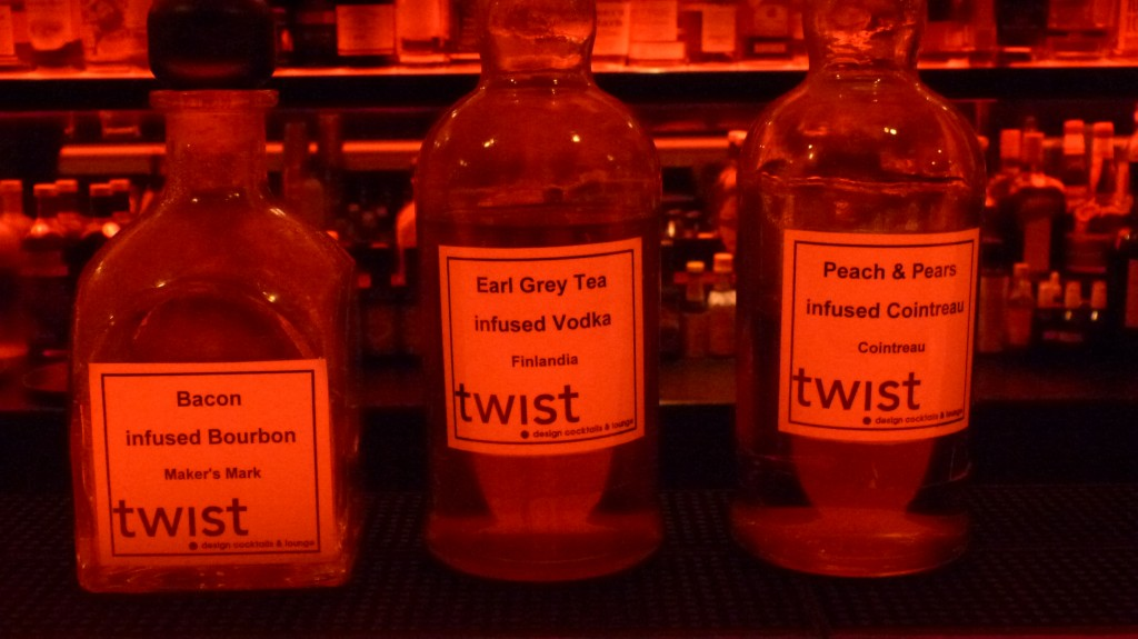 Infusionen der Twist Bar