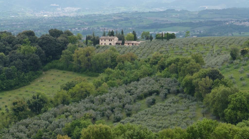 Umbrien - Das grüne Herz Italiens - von Montefaco aus betrachtet