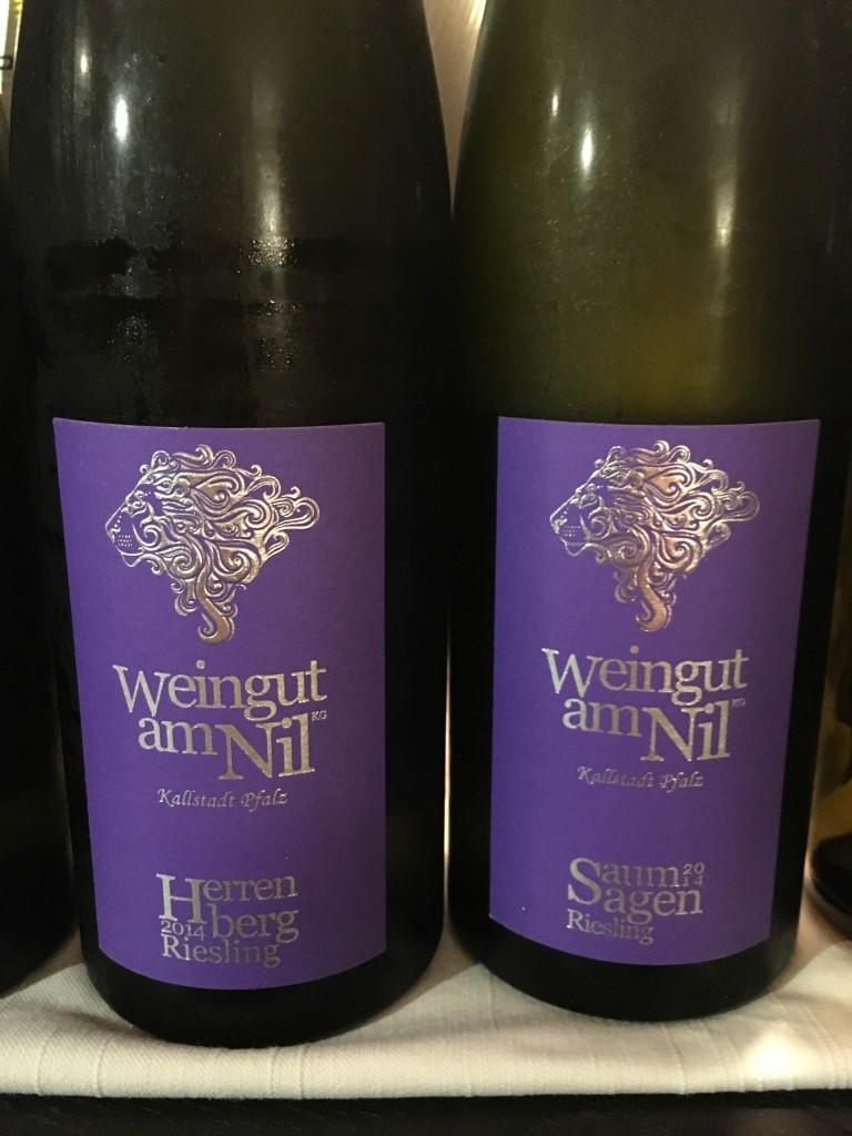 Weingut am Nil - Herrenberg und Saumagen 2014