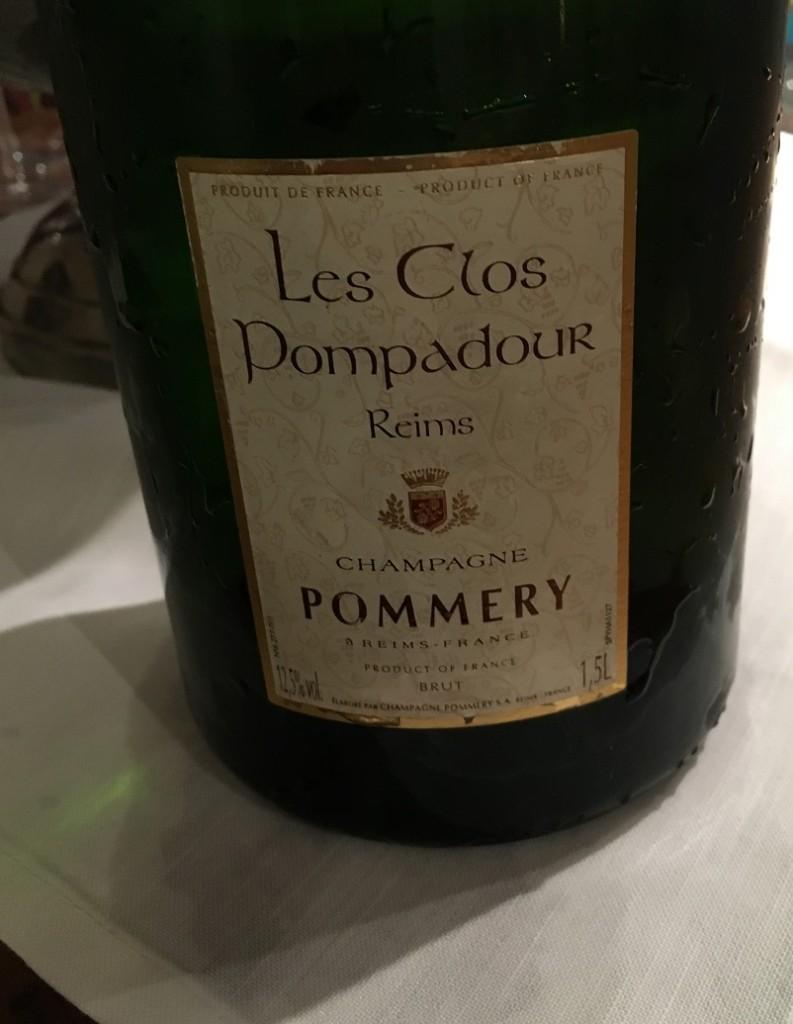 Pommery Les Clos Pompadour