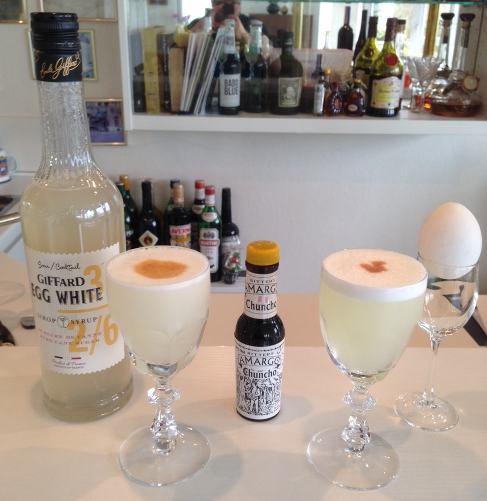 Pisco Sour: Giffard Egg White / Frisches Eiweiß