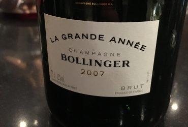 Bollinger La Grande Année 2007