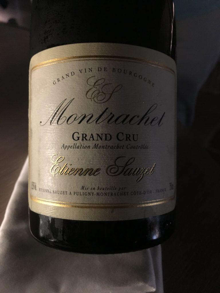 Etienne Sauzet Montrachet Grand Cru 2008
