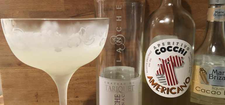 Twentieth Century Cocktail Blanche