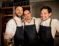 Team TinTin: Konstantin Kuld, Jonas Hald, Benji Stroheker